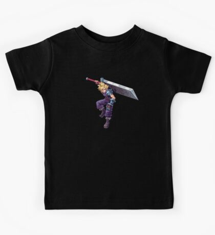 Cloud Strife - Deluxe Sprite from AbyssWolf Kids Tee