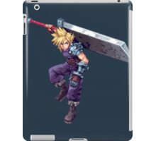 Cloud Strife - Deluxe Sprite from AbyssWolf iPad Case/Skin