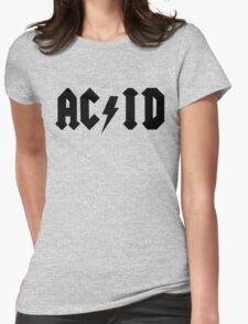 Acid Two Womens Fitted T-Shirt
