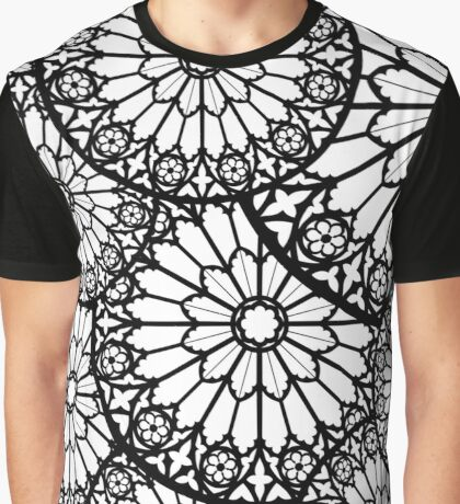Notre Dame's Rose Window Graphic T-Shirt