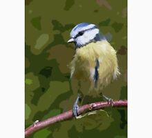 "Birds story, "" fawn paint Picasso ! "" 11 (c) (h) the Blue Tit - Olao-Olavia by Okaio Créations  Unisex T-Shirt"