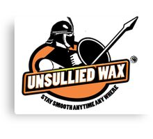 Unsullied Wax Canvas Print