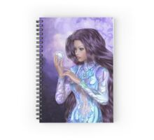 Fairy Crystal Spiral Notebook