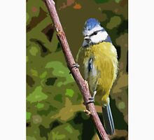 "Birds story, "" fawn paint Picasso ! "" 10 (c) (h) the Blue Tit - Olao-Olavia by Okaio Créations  Unisex T-Shirt"