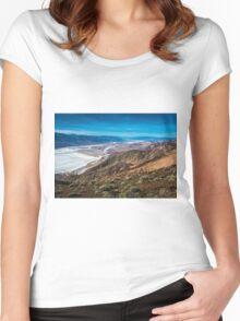Dantes View T-shirt femme moulant à col profond