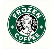 Frozen Coffee Art Print