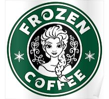 Frozen Coffee Poster