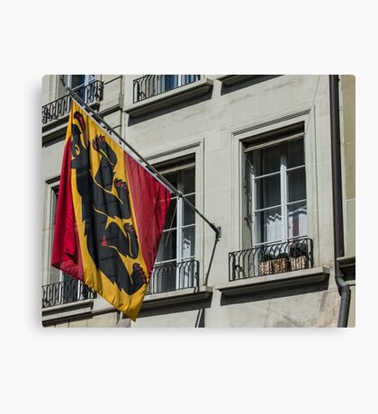 Coat Of Arms - Bern Old City - Switzerland Canvas Print
