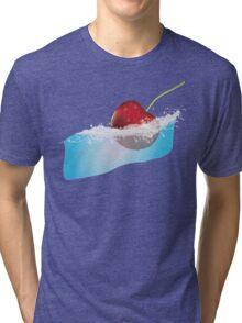 Cherry Splash Tri-blend T-Shirt