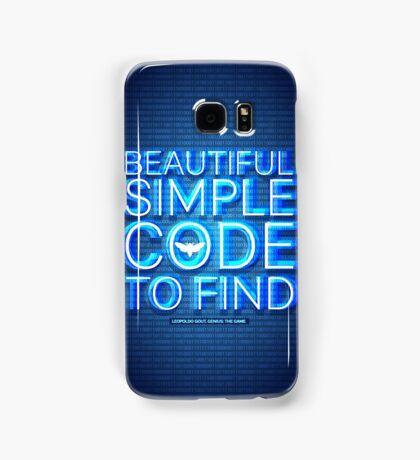 Beautiful code Samsung Galaxy Case/Skin