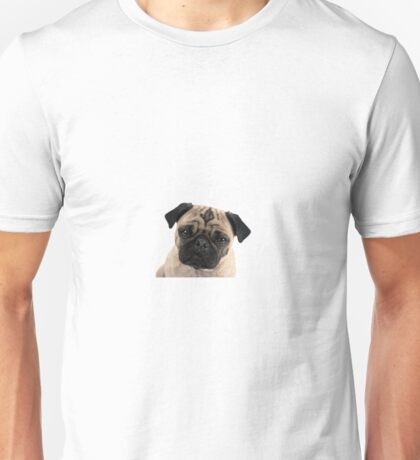 Adorable Pug Pup Unisex T-Shirt