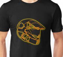 Space Trooper Helmet - Orange Unisex T-Shirt