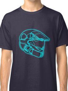 Space Trooper Helmet - Blue Classic T-Shirt