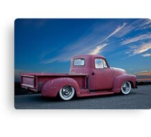 1947 Chevy 'La Patina' Pickup Truck Canvas Print