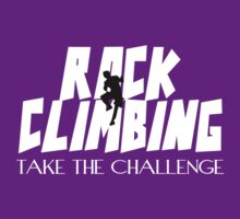 Rock Climbing Take The Challenge T-Shirt