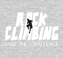 Rock Climbing Take The Challenge One Piece - Long Sleeve