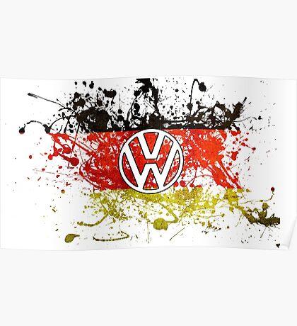 German Volkswagen  Poster