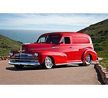 1947 Chevrolet 'Passion Pit' Panel Photographic Print