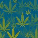 Marijuana Cannabis Weed Pot Indie Colors by MarijuanaTshirt