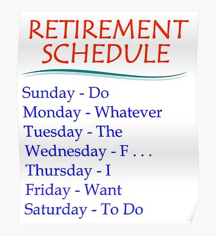 Retirement Gifts Poster