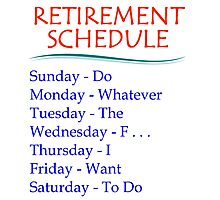 Retirement Gifts Photographic Print