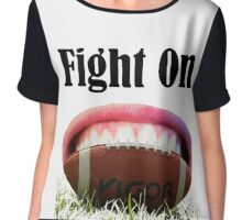 American Football Games -Fight On! Win It Chiffon Top