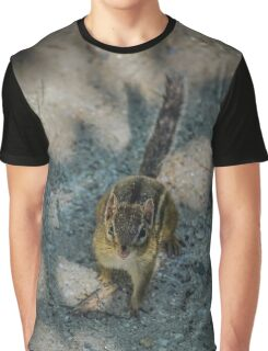 Tamias Minimus - Least Chipmunk | Noyack, New York Graphic T-Shirt