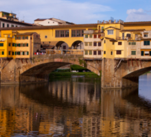 Vecchio Bridge Florence Sticker