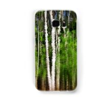 Abstract Tree Reflection Samsung Galaxy Case/Skin