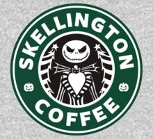Skellington Coffee Baby Tee