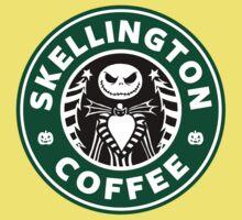 Skellington Coffee Kids Tee