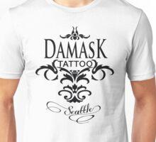 Damask Tattoo Seattle Unisex T-Shirt