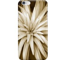 Spiral Abstract Art Monochrome Plant iPhone Case/Skin
