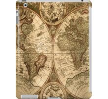 Old World Map  iPad Case/Skin