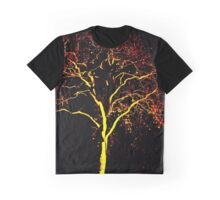 Flame tree Graphic T-Shirt