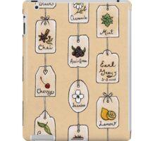 Tea Tag Time iPad Case/Skin