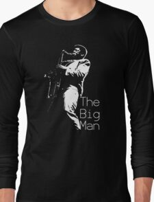 Clarence Clemons On Stage Long Sleeve T-Shirt