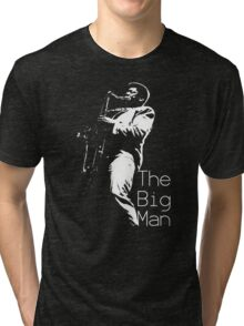 Clarence Clemons On Stage Tri-blend T-Shirt