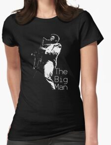Clarence Clemons On Stage Womens Fitted T-Shirt