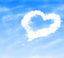 Heart shaped cloud 3 by AnnArtshock