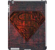 Rustic Red Superman iPad Case/Skin