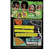 Tex Watt's  (UNCENSORED) SUNDAY COMIX POP-ART: Page #1  Photographic Print