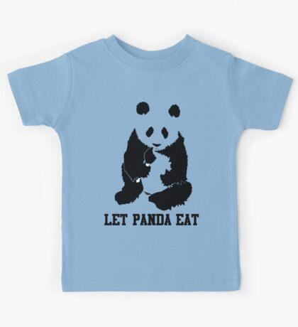 LET PANDA EAT Kids Tee