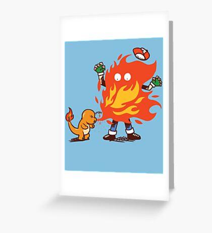 Charred Greeting Card
