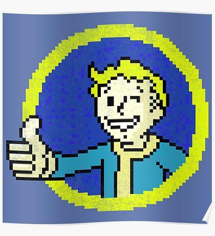 8-bit Pip-boy Poster