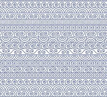 Circles and Curls Patterns by Mariya Olshevska