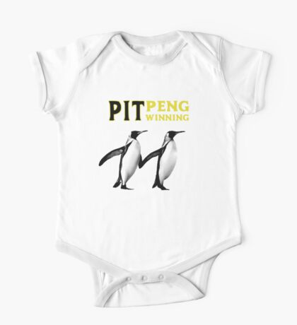 Pittsburgh Pengwinning One Piece - Short Sleeve