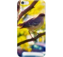 Mockingbird Enjoying The Autumn Day iPhone Case/Skin