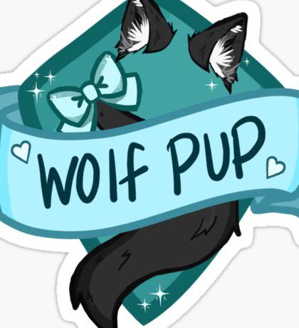 Wolf Pup Badge Sticker