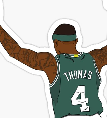 Isaiah Thomas Illustration Sticker